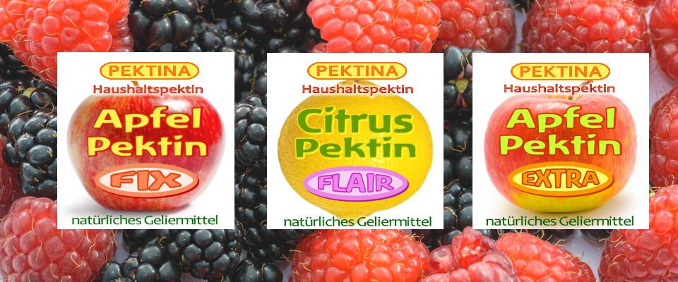 PEKTINA Haushaltspektine zum Marmelade Einkochen mit oder ohne Zucker - Pektin zum Marmelade Einkochen | PEKTINA Ingredients