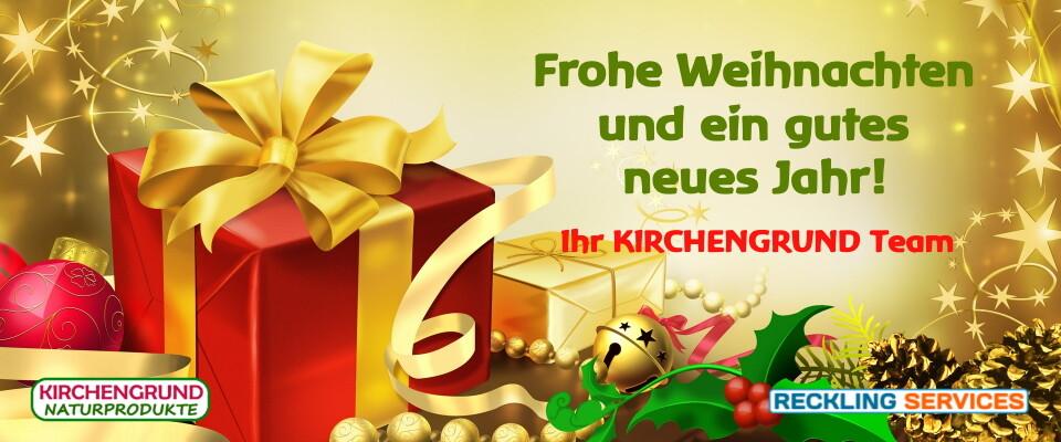 KIRCHENGRUND wünscht ein frohes Weihnachtsfest - KIRCHENGRUND wünscht ein frohes Weihnachtsfest