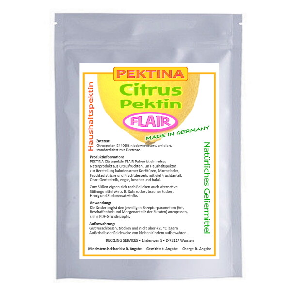 PEKTINA Citruspektin FLAIR Pulver 1 kg